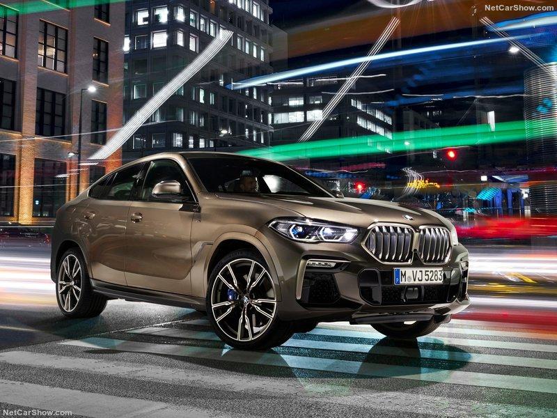 Yeni BMW X6 ortaya çıktı