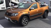 Dacia Duster pick-up modeli geliyor