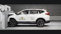 Honda CR-V'ye güvenlikte tam not