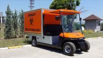 Bursa'da üretilen elektrikli araçlar 'tıbbi atık' toplayacak