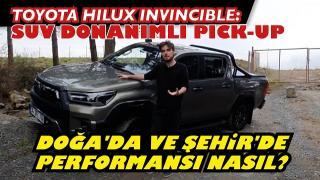 Toyota Hilux İnvincible   Suv Donanımlı Pickup.Yenilmez Hilux gerçekten yenilmez mi?
