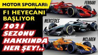 Formula 1 2021 sezonu başlıyor!.. F1 takımlar, markalar, detaylar. Motorsporlarında F1 heyecanı.