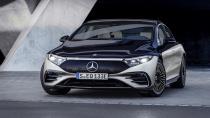 Lüks elektrikli sedan EQS tanıtıldı