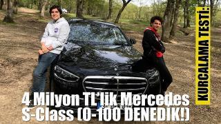 Mercedes S-Class Kurcalama Testi