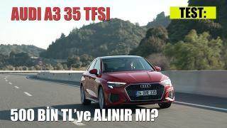 Test Sürüşü: Yeni Audi A3 Sportback 35 TFSI